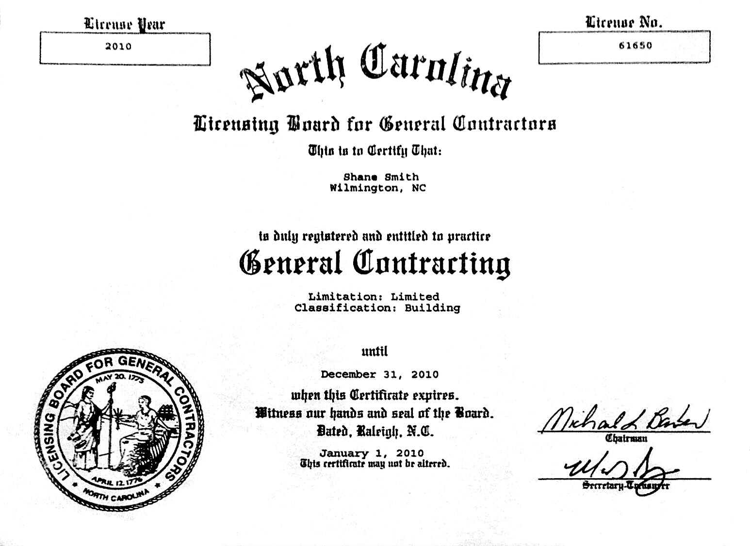 Nc Roofing License Amp Frequently Asked Questions